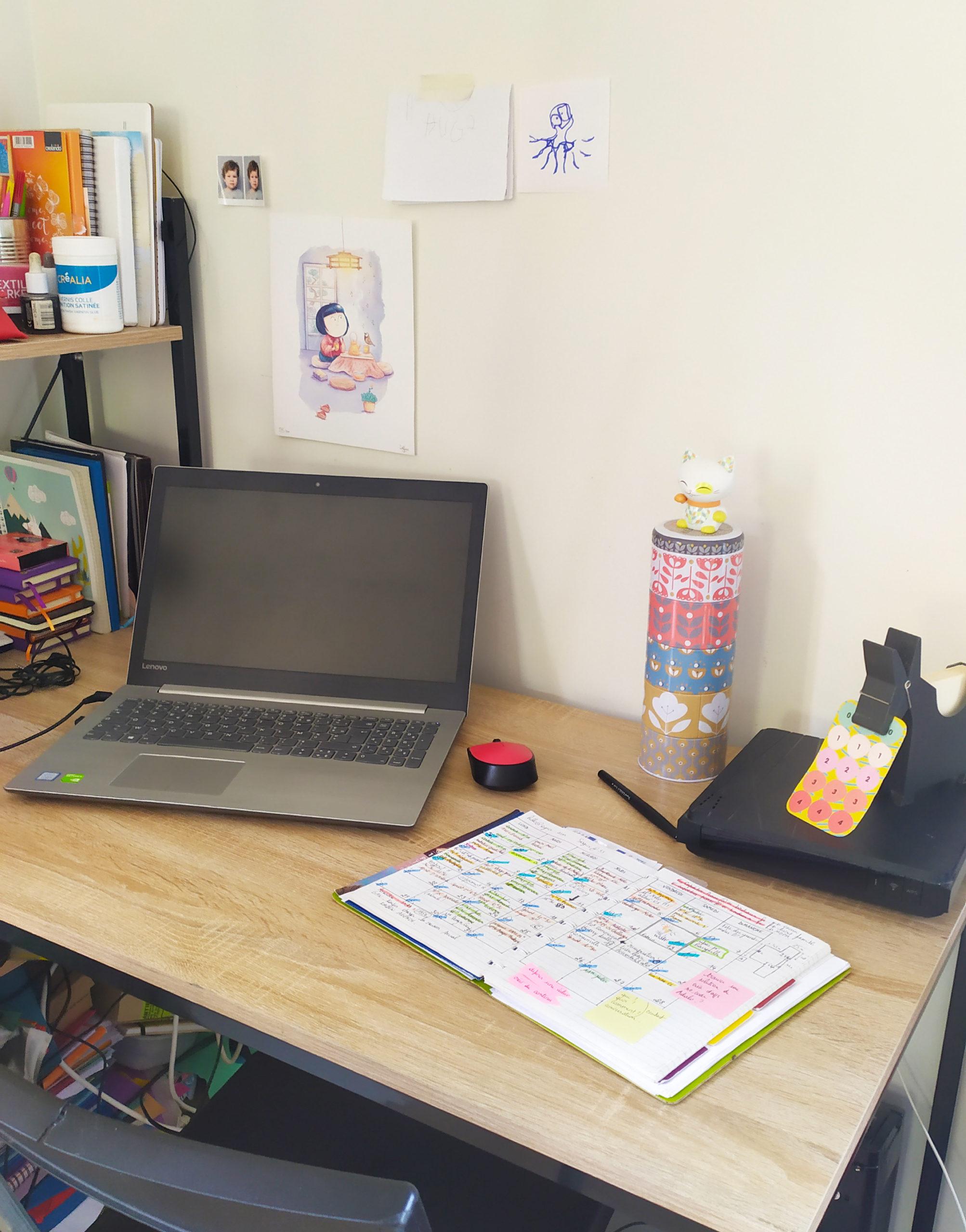 mon bureau mon espace, nomadisme et télétravail